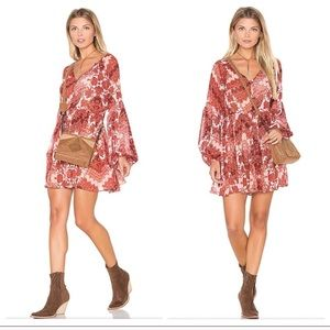 Show me Your MuMu Long Sleeve Sienna Swing Dress